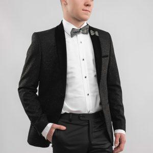 black-sparkling-tuxedo-hand-in-pocket