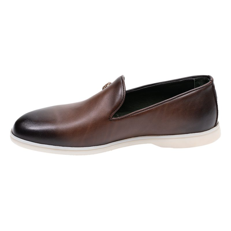 Brown casual loafer