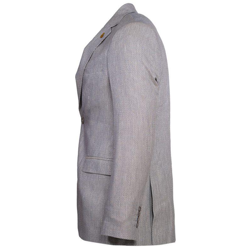 Light gray blazer side view