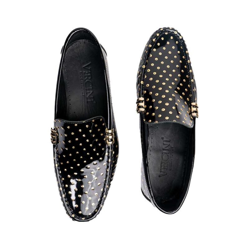 black leather driving shoes mens