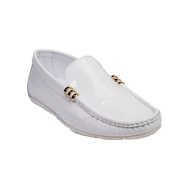 white patent leather driving shoes mens moccasin