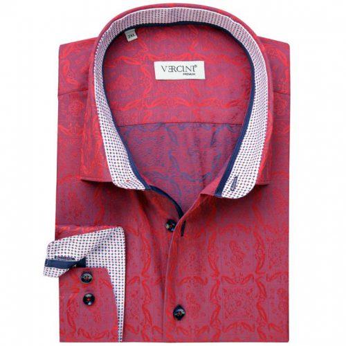 Red and blue blended color design